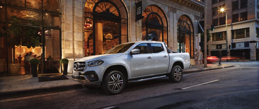 Image of Mercedes Benz X Class