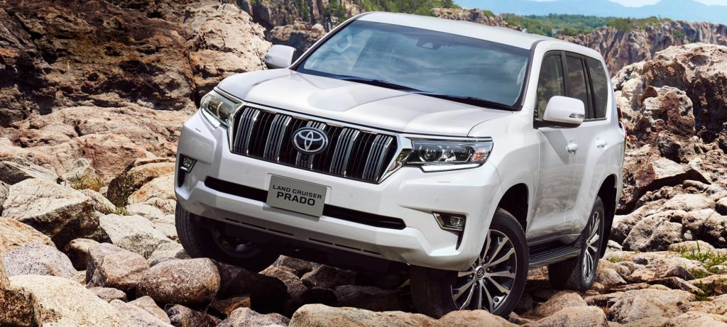 Toyota Land Cruiser Prado for sale in Kenya - We import the Toyota