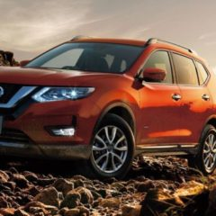 New shape Nissan X-Trail