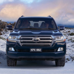 New shape Toyota Land Cruiser V8