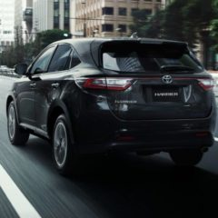 New shape Toyota Harrier