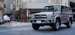 Image of Toyota Land Cruiser 70 Series